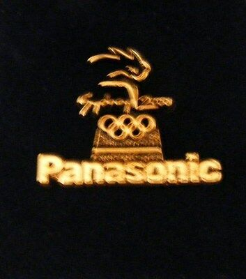 Olympic Pin   Panasonic   Official  Partner #1408 Hord  To Get