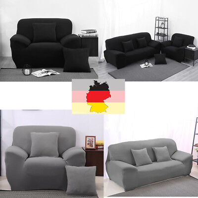 Stretch Sofa Slipcover Schutzhülle Möbel Couch Cover Protector 1/2/3 Sitzer Mode