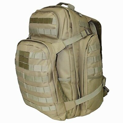 Tactical military molle back pack desert tan - Bug Out Pack 45L