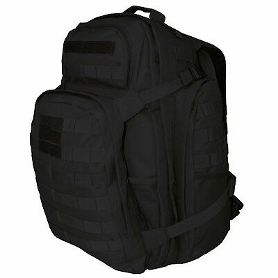 Tactical military molle back pack black - Bug Out Pack 45L