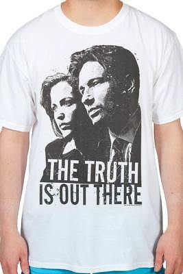 THE X-FILES THE TRUTH IS OUT THERE T-Shirt SMALL MEDIUM LARGE XL