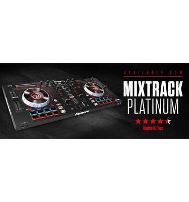 Numark Mixtrack Platinum | 4-channel DJ Controller With 4-deck Layering and Hi-R