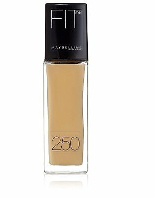 GEMEY MAYBELLINE FIT ME TEINTE 250 SUN BEIGE Maybelline Fit Me Liquid Foundation