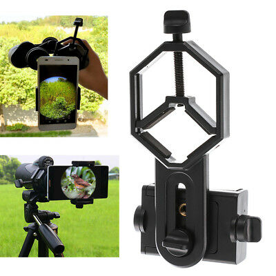 【US】Cell Phone Adapter Holder Clamp for Microscope Binocular Telescop Monocular