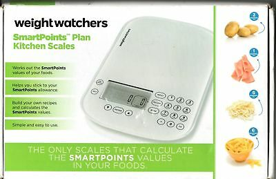White Weight Watchers Kitchen Scales With Smart Points Free Postage Smartpoints