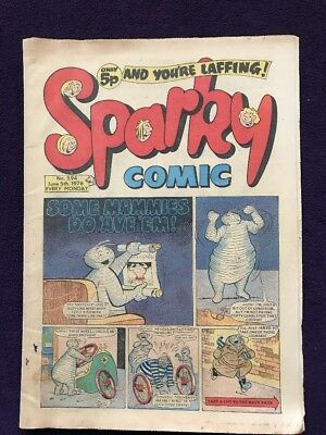 SPARKY COMIC - June 5th 1976