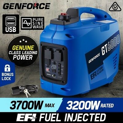 Portable Home Genforce 3,700W Petrol Inverter Generator -GT6000 Electric Power