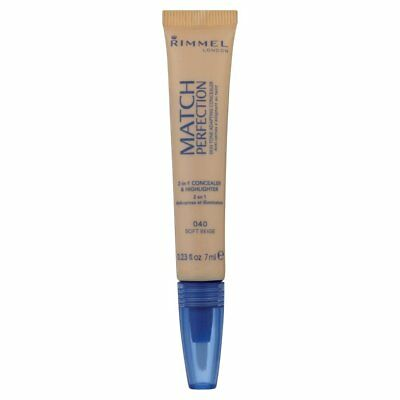Rimmel Match Perfection 2-in-1 Concealer 7ml - 040 Soft Beige