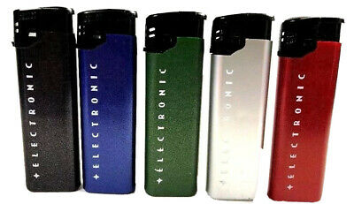 5 Electronic Calico Lighters (Full Size)