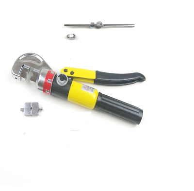 """Hydraulic Hand Crimp Tool & 50pcs Stainless Steel Stud End Fitting -1/8"""" Cable"""