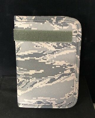 Military Issue - Zippered Binder Cover with Card Slots - Camo - New - Free Ship!