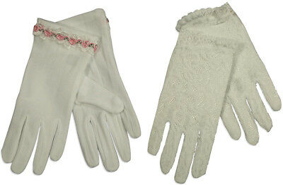 Girls Communion Special Occasion Wedding Flower Girl Dress Up Gloves Ages 2-4