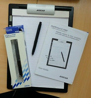 Acecad Digimemo A4 Writing System