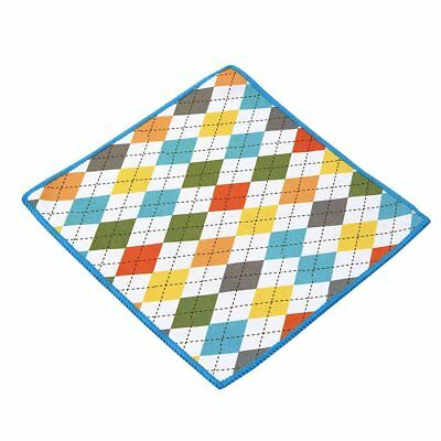 Carson Double Sided Microfiber Cleaning Cloth, Spring Argyle