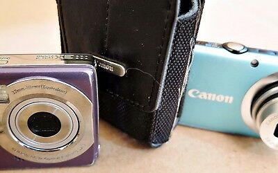 Lot of 2, Canon Powershot/Kodak Easyshare Digital Camera/Video, Parts/Repair
