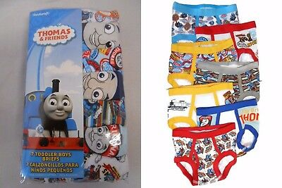 THOMAS THE TRAIN AND FRIENDS 10-pack Toddler Boys Briefs Sizes 2T/3T, 4T