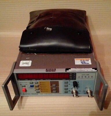 Racal-Dana 1998 Frequency Counter + Options M + 55 + 10 + 04E + 60 + Accessories