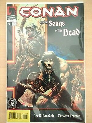 Complete Set Conan And The Songs Of The Dead #1-5 Dark Horse Comics (Cbr027)