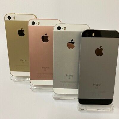 APPLE iPHONE SE 16GB / 64GB -  Unlocked / EE / O2 / Voda Smartphone Mobile