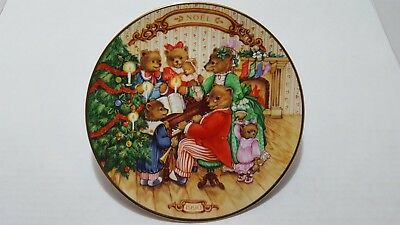 Avon Collectable Christmas Plate 1990