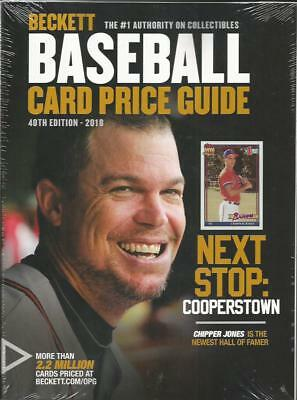 2018 Beckett Baseball Card Annual Price Guide - 40th Edition - $39.95 SRP