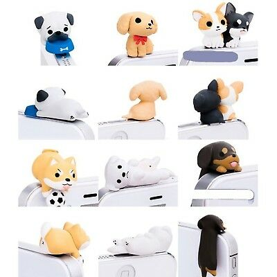 Little Puppy 3.5mm Dust Plug 6 Pcs of Jack Earphone Cap for iphone 6, iphone ...