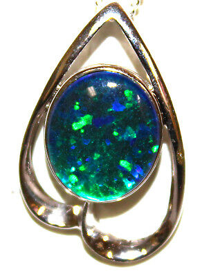 Mother's Day Gift Genuine Opal Pendant Special Offer Australian Opal