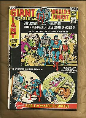 World's Finest 206 fn 1971 68 page giant Superman Batman DC Comics US comics