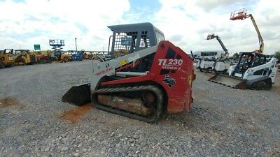 2013 Takeuchi TL230 TL 230 Joystick 2 Speed Track Skid Steer Tracksteer Used