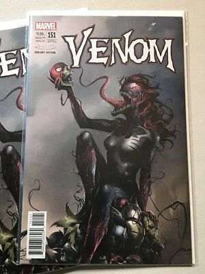 VENOM #151  LOT OF 5  Mattina Mary Jane 'Venomized' Variant NM or better