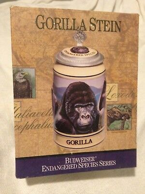 Budweiser Endangered Species series The Gorilla stein