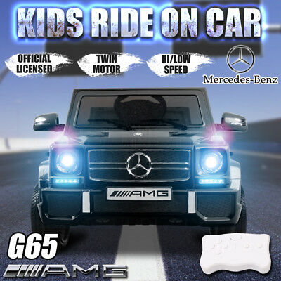 Licensed Mercedes-benz G65 AMG Children Ride on Car Battery 12V Remote Control