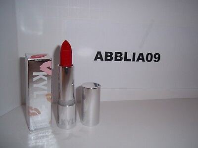 Kylie Cosmetics Silver Series Lipstick RED HOT BNIB