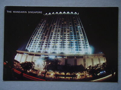 The Mandarin Singapore Hotel Postcard
