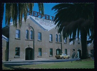 Seppelts Rutherglen Winery Original Building Built In The 1880's Postcard (P217)