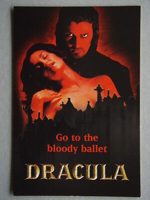 Dracula Go to the bloody ballet Avant Card #4511 Postcard (P190)