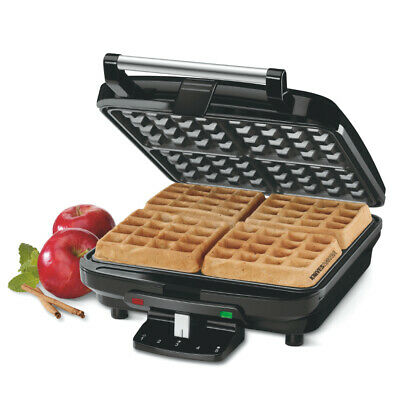 New Cuisinart 4 Slice Belgian Electric Waffle Maker 46946 Non Stick Free Post