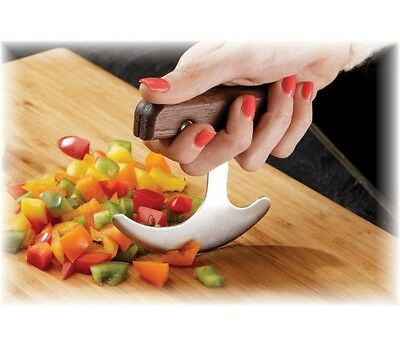 Rocking T Knife -Stainless Steel -For Arthritis Hands Weak Grasp One-handed User