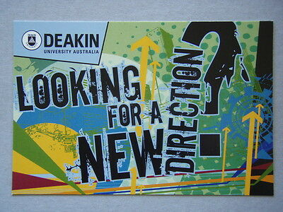Avant Card #13662 2009 Deakin Uni Aust Looking For a New Direction Postcard