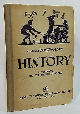 History: A Textbook for the Middle Schools Soviet Union Nikolsky 1935