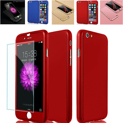 For iphone 6s Plus 6s 6+ 6 7 Plus Hybrid Case Cover 360 Protection Full Case New