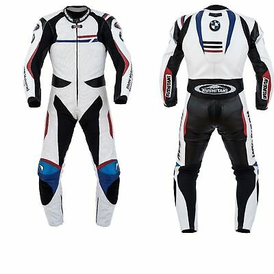 Bmw Kushitan Motorcycle Leather Racing Suit Ce Approved Protection All Sizes