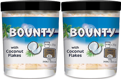 909703 2x 200g JARS OF BOUNTY MILK SPREAD