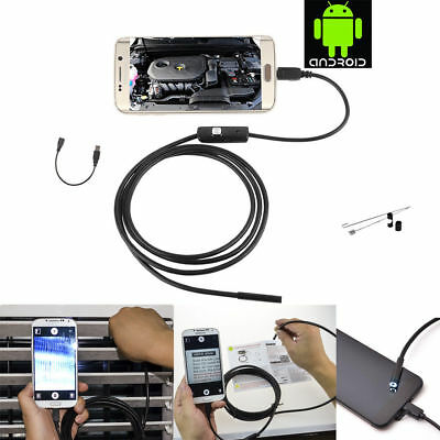 5M Mini USB Endoscope Waterproof Inspection Camera for Android OTG Smart Phones