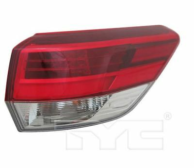 TYC NSF Right Side Tail Light Assy for Toyota Highlander 2017-2018 Models
