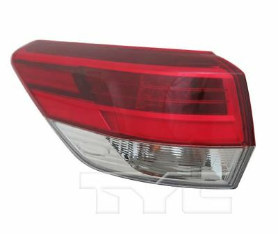 TYC NSF Left Side Tail Light Assy for Toyota Highlander 2017-2018 Models