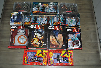 Mixed Lot Of Items-Star Wars-Predtor-Dr Who-Spider Man.