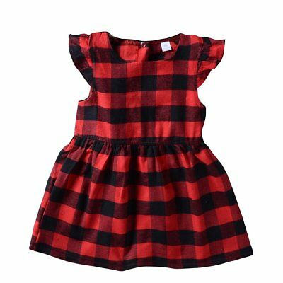 NEW Toddler Kids Baby Girls Summer Princess Dress Party Pageant Dresses Clothes