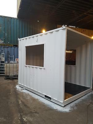 10ft container smoking shelter (BUY/RENT)