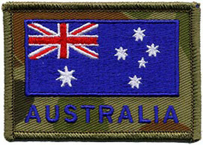 Australian Flag on DPCU ANF Embroidered Patch